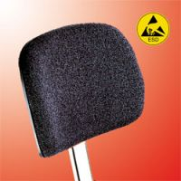 Rectangular fabric ESD backrest